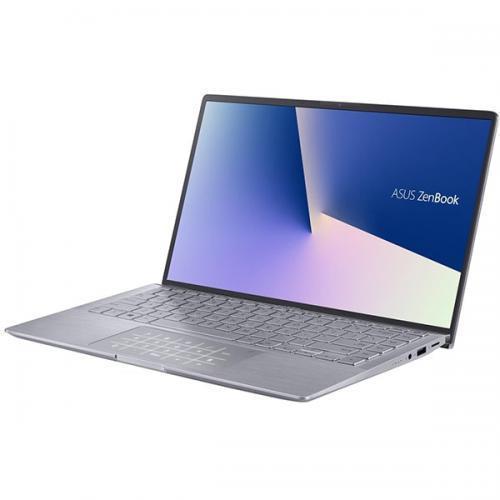 Laptop ASUS ZenBook 14 UM433IQ-A5024T, AMD Ryzen 5 4500U, 14inch, RAM 8GB, SSD 512GB, nVidia GeForce MX350 2GB, Windows 10, Light Grey
