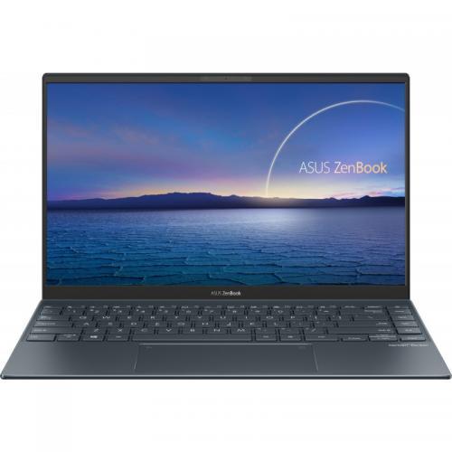 Laptop ASUS ZenBook 14 UX425EA-BM174, Intel Core i7-1165G7, 14inch, RAM 16GB, SSD 512GB, Intel Iris Xe Graphics, No OS, Pine Grey