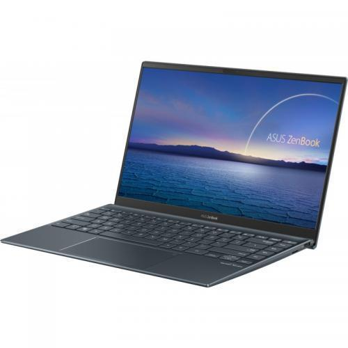 Laptop ASUS ZenBook 14 UX425EA-BM175, Intel Core i7-1165G7, 14inch, RAM 16GB, SSD 1TB, Intel Iris Xe Graphics, No OS, Pine Grey