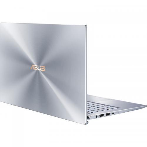 Laptop ASUS ZenBook 14 UX431FL-AM056, Intel Core i7-10510U, 14inch, RAM 16GB, SSD 512GB, nVidia GeForce MX250 2GB, No OS, Utopia Blue