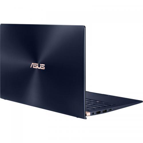 Laptop ASUS ZenBook 14 UX433FLC-AI434R, Intel Core i7-10510U, 14inch Touch, RAM 16GB, SSD 512GB, nVidia GeForce MX250 2GB, Windows 10 Pro, Royal Blue