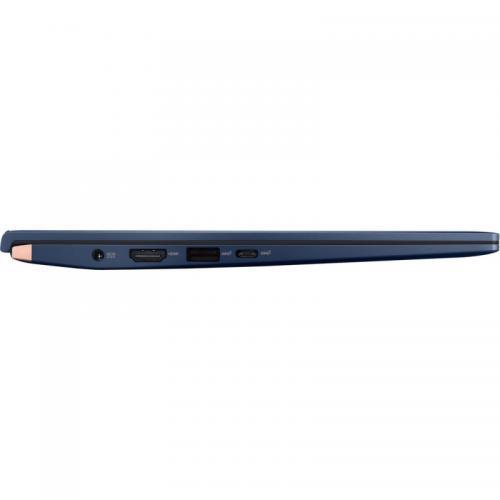 Laptop ASUS ZenBook 14 UX434FLC-A5131R, Intel Core i7-10510U, 14inch, RAM 16GB, SSD 1TB, nVidia GeForce MX250 2GB, Windows 10 Pro, Royal Blue