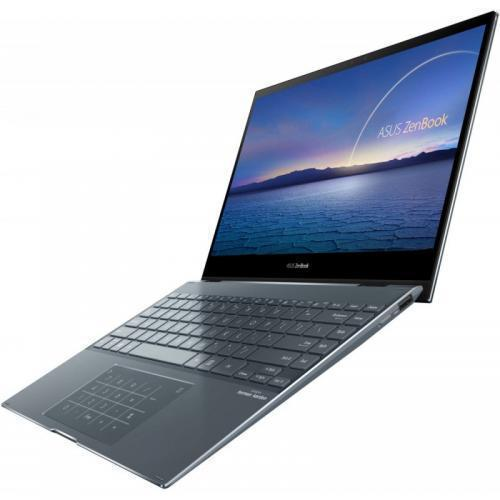 Laptop ASUS ZenBook Flip 13 UX363EA-EM045R, Intel Core i7-1165G7, 13.3inch Touch, RAM 16GB, SSD 1TB, Intel Iris Xe Graphics, Windows 10 Pro, Pine Grey