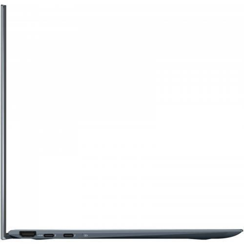 Laptop ASUS ZenBook Flip 13 OLED UX363EA-HP322R, Intel Core i7-1165G7, 13.3inch FHD OLED Touch, RAM 8GB, SSD 512GB, Intel Iris Xe Graphics, Windows 10 Pro, Pine Grey