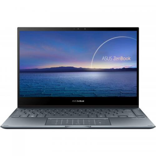Laptop ASUS ZenBook Flip 13 UX363JA-EM149T, Intel Core i5-1035G4, 13.3inch Touch, RAM 8GB, SSD 512GB, Intel Iris Plus Graphics, Windows 10, Pine Grey