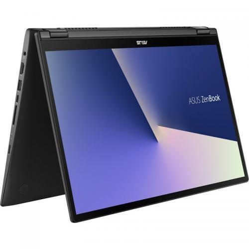 Laptop ASUS ZenBook Flip 15 UX563FD-EZ043R, Intel Core i7-10510U, 15.6inch Touch, RAM 16GB, SSD 1TB, nVidia GeForce GTX 1050 4GB, Windows 10 Pro, Gun Grey