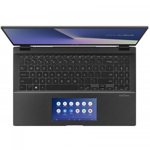 Laptop ASUS ZenBook Flip 15 UX563FD-EZ087R, Intel Core i7-10510U, 15.6inch Touch, RAM 16GB, SSD 1TB, nVidia GeForce GTX 1050 4GB, Windows 10 Pro, Gun Grey