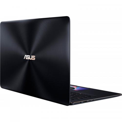 Laptop ASUS ZenBook Pro 15 UX580GE-BN020R, Intel Core i7-8750H, 15.6inch, RAM 16GB, SSD 512GB, nVidia GeForce GTX 1050 Ti 4GB, Windows 10 Pro, Deep Dive Blue