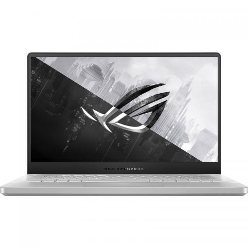 Laptop ROG Zephyrus G14 GA401IU-HE117T, AMD Ryzen 9 4900HS, 14inch, RAM 16GB, SSD 512GB, nVidia GeForce GTX 1660 Ti 6GB, Windows 10, Moonlight White