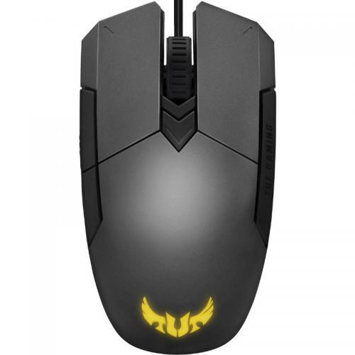 Mouse Optic ASUS TUF Gaming M5, RGB LED, USB, Grey