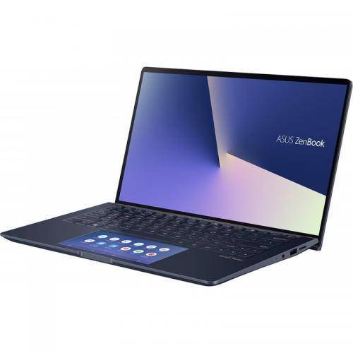 Laptop ASUS ZenBook 13 UX334FLC-A3108R, Intel Core i5-10210U, 13.3inch, RAM 8GB, SSD 512GB, nVidia GeForce MX250 2GB, Windows 10 Pro, Royal Blue