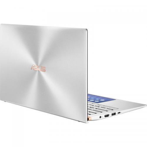 Laptop ASUS ZenBook 14 UX434FAC-A5155T, Intel Core i7-10510U, 14inch, RAM 16GB, SSD 512GB, Intel UHD Graphics 620, Windows 10, Icicle Silver