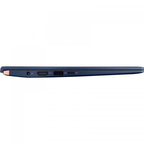 Laptop ASUS ZenBook 14 UX434FAC-A5169T, Intel Core i7-10510U, 14inch, RAM 16GB, SSD 512GB, Intel UHD Graphics 620, Windows 10, Royal Blue
