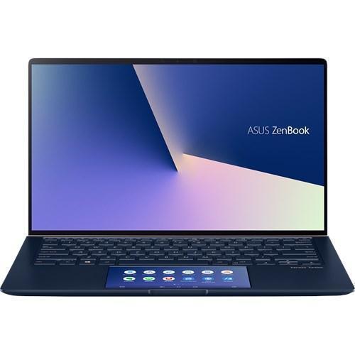 Laptop ASUS ZenBook 14 UX434FAC-AI280R, Intel Core i7-10510U, 14inch Touch, RAM 16GB, SSD 1TB, Intel UHD Graphics 620, Windows 10 Pro, Royal Blue
