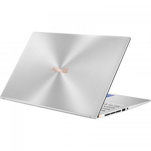 Laptop ASUS ZenBook 15 UX534FAC-AA041T, Intel Core i7-10510U, 15.6inch, RAM 8GB, SSD 512GB, Intel UHD Graphics 620, Windows 10, Silver