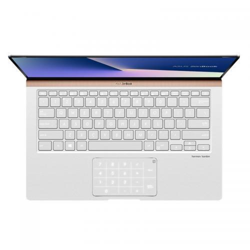 Laptop ASUS ZenBook 14 UX433FAC-A5290T, Intel Core i5-10210U, 14inch, RAM 8GB, SSD 512GB, Intel UHD Graphics, Windows 10, Icicle Silver