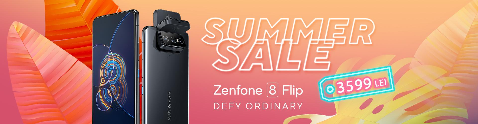 Zenfone 8 Flip Summer Sale